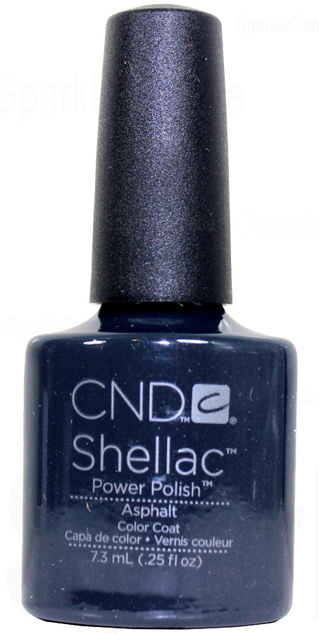 Cnd Shellac Asphalt By Cnd Shellac 12 2024 Sparkle Canada One Nail Polish Place