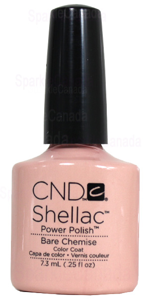 Cnd Shellac Bare Chemise By Cnd Shellac 12 393 Sparkle Canada One Nail Polish Place