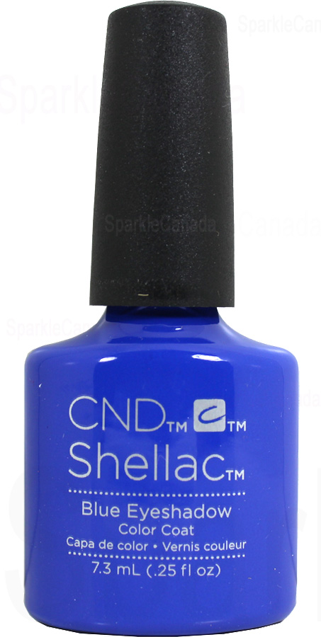 Cnd Shellac Blue Eyeshadow By Cnd Shellac 12 2760 Sparkle Canada One Nail Polish Place