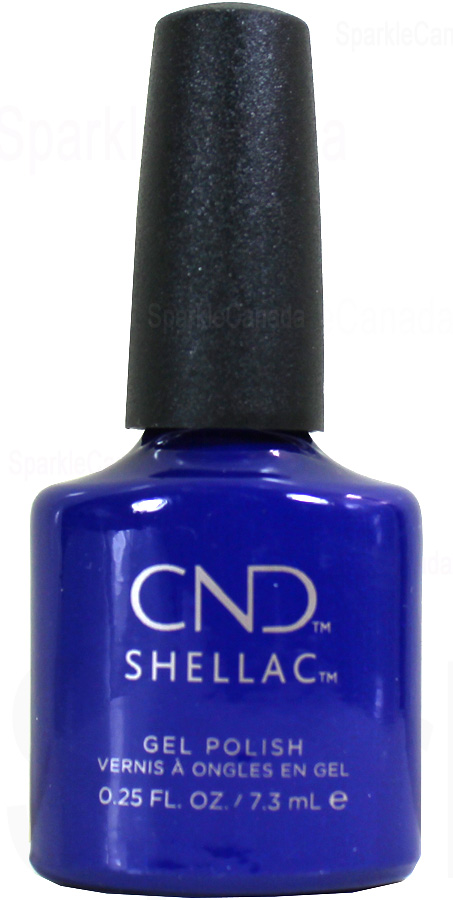 Cnd Shellac Blue Moon By Cnd Shellac 12 3102 Sparkle Canada One Nail Polish Place