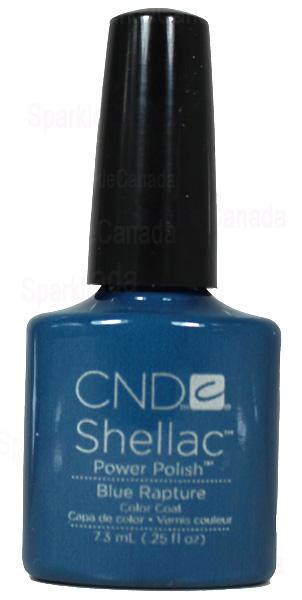Cnd Shellac Blue Rapture By Cnd Shellac 12 396 Sparkle Canada One Nail Polish Place