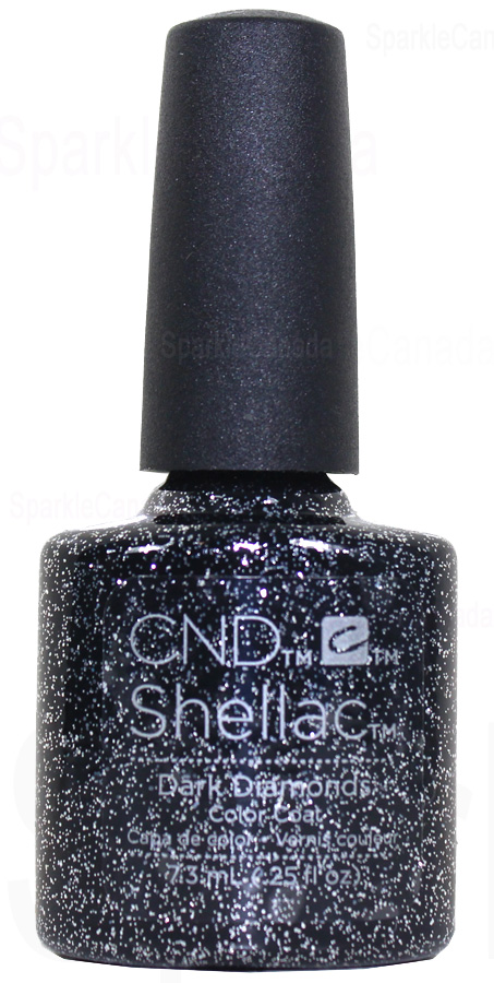 Cnd Shellac Dark Diamonds By Cnd Shellac 12 2611 Sparkle Canada One Nail Polish Place