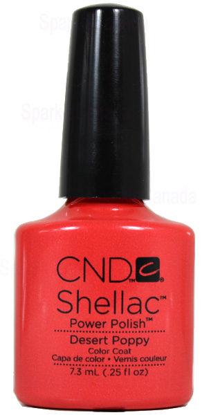 Cnd Shellac Desert Poppy By Cnd Shellac 12 415 Sparkle