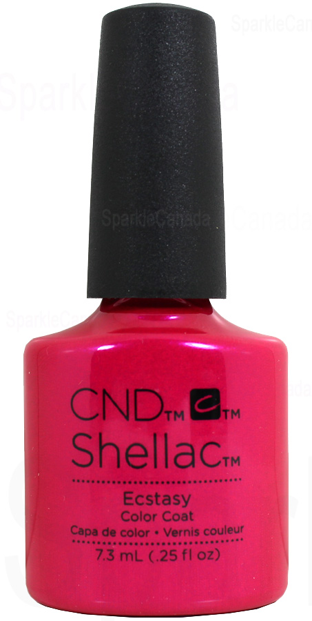 Cnd Shellac Ecstasy By Cnd Shellac 12 2748 Sparkle Canada One Nail Polish Place
