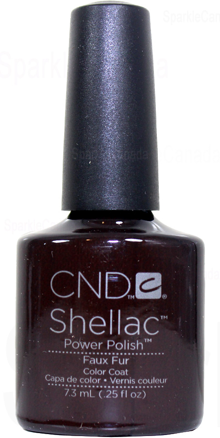 cnd shellac faux fur by cnd shellac 122026 sparkle