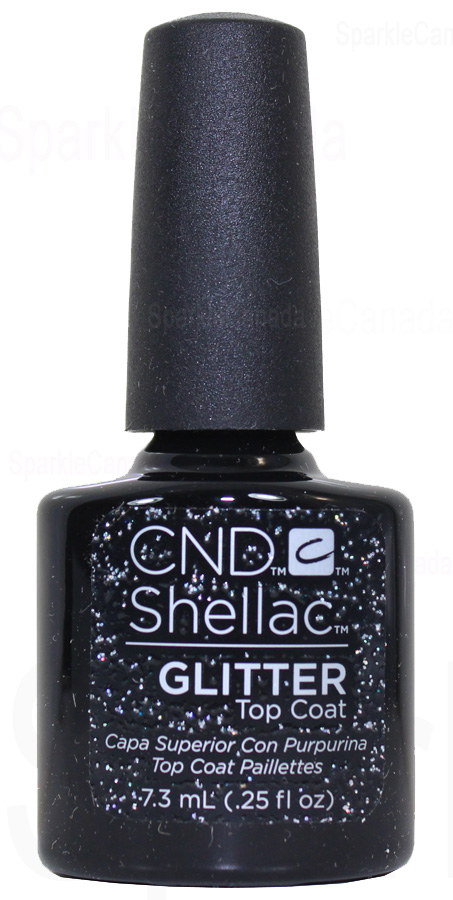 Cnd Shellac Glitter Top Coat By Cnd Shellac 12 3028 Sparkle Canada One Nail Polish Place