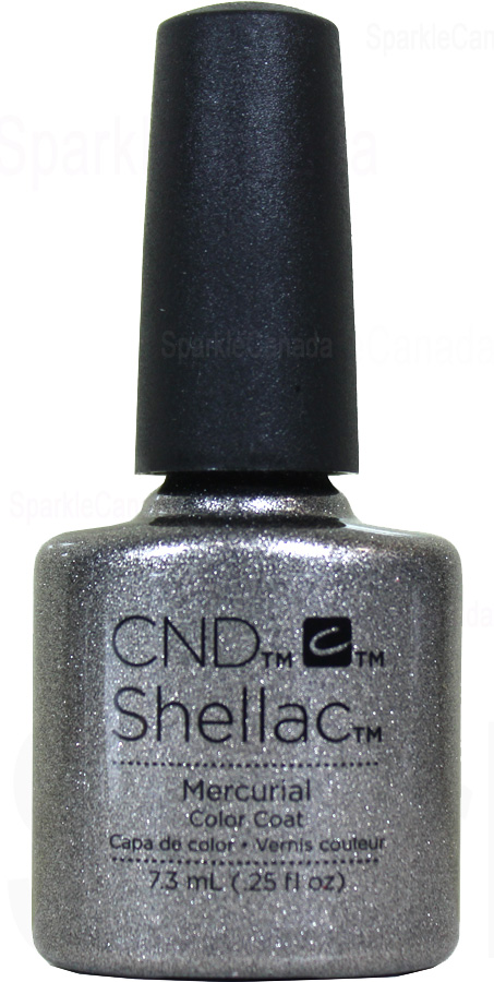 Cnd Shellac Mercurial By Cnd Shellac 12 2847 Sparkle Canada One Nail Polish Place