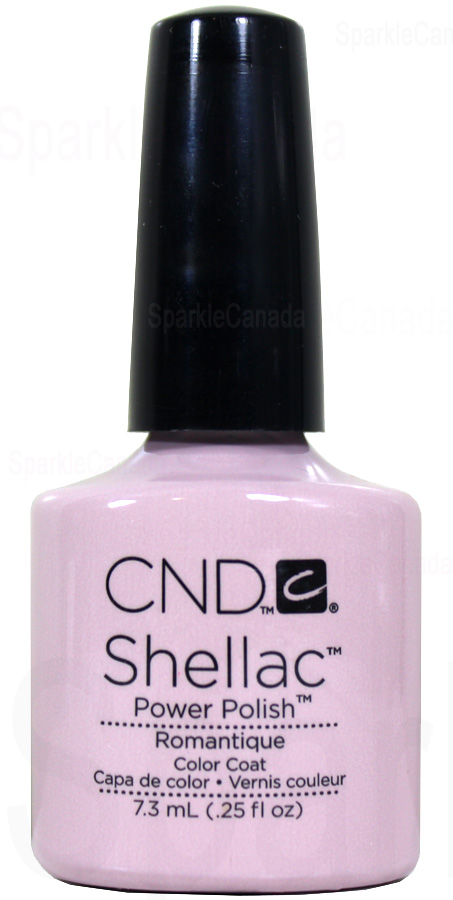 Cnd Shellac Romantique By Cnd Shellac 12 1123 Sparkle Canada One Nail Polish Place