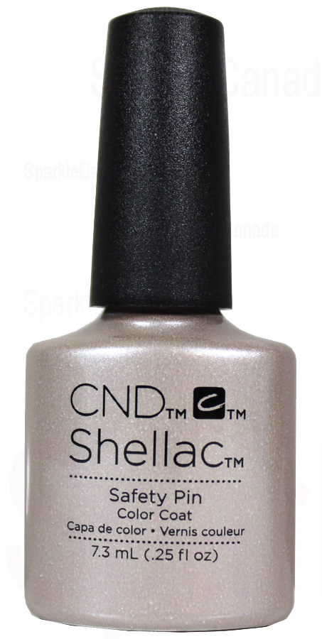 Cnd Shellac Safety Pin By Cnd Shellac 12 1441 Sparkle Canada One Nail Polish Place