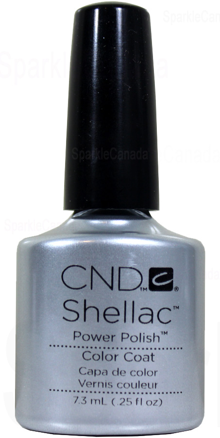 Cnd Shellac Silver Chrome By Cnd Shellac 12 2019 Sparkle Canada One Nail Polish Place