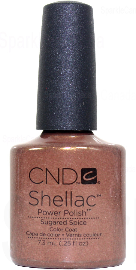 Cnd Shellac Sugared Spice By Cnd Shellac 12 2022 Sparkle Canada One Nail Polish Place
