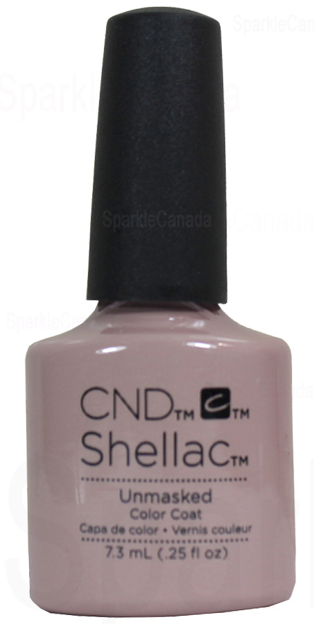 Cnd Shellac Unmasked By Cnd Shellac 12 3034 Sparkle Canada One Nail Polish Place