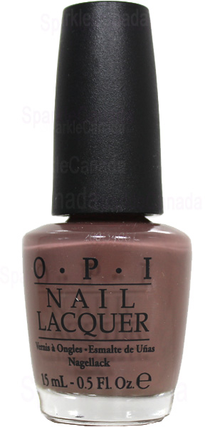Opi Over The Taupe By Opi Nlb85 Sparkle Canada One Nail Polish Place