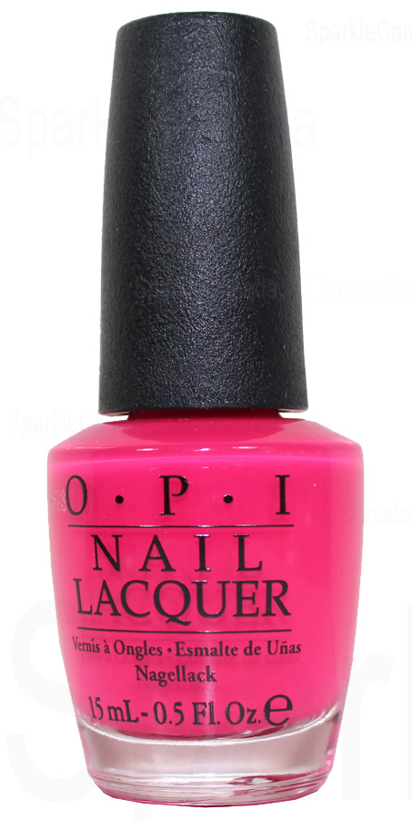 Opi Precisely Pinkish By Opi Nlbc1 Sparkle Canada One Nail Polish Place