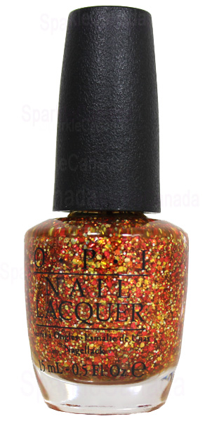 Opi Orange You Fantastic By Opi Nlc20 Sparkle Canada One Nail Polish Place