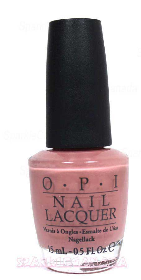 Opi Barefoot In Barcelona By Opi Nle41 Sparkle Canada One Nail Polish Place