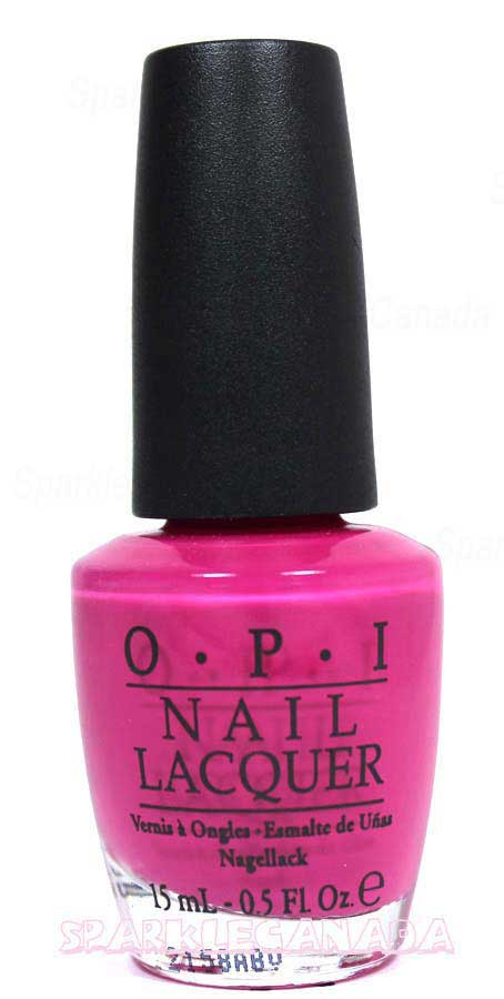 Opi Pink Flamenco By Opi Nle44 Sparkle Canada One Nail Polish Place
