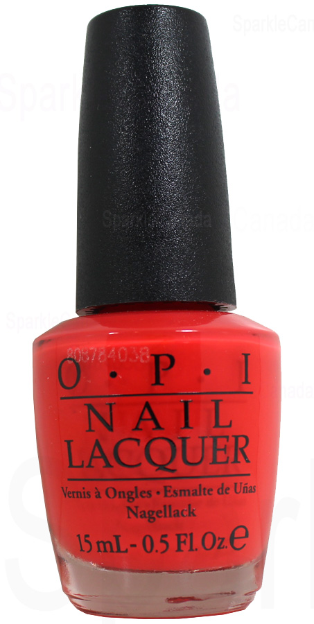 Opi Living On The Bula Vard By Opi Nlf81 Sparkle Canada One Nail Polish Place