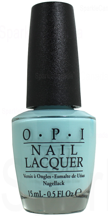 Opi Suzi Without A Paddle By Opi Nlf88 Sparkle Canada One Nail Polish Place