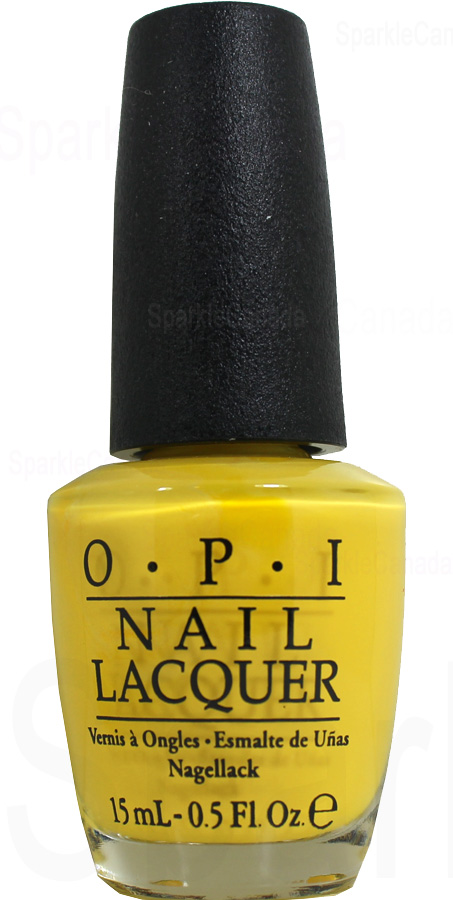 Opi Exotic Birds Do Not Tweet By Opi Nlf91 Sparkle Canada One Nail Polish Place