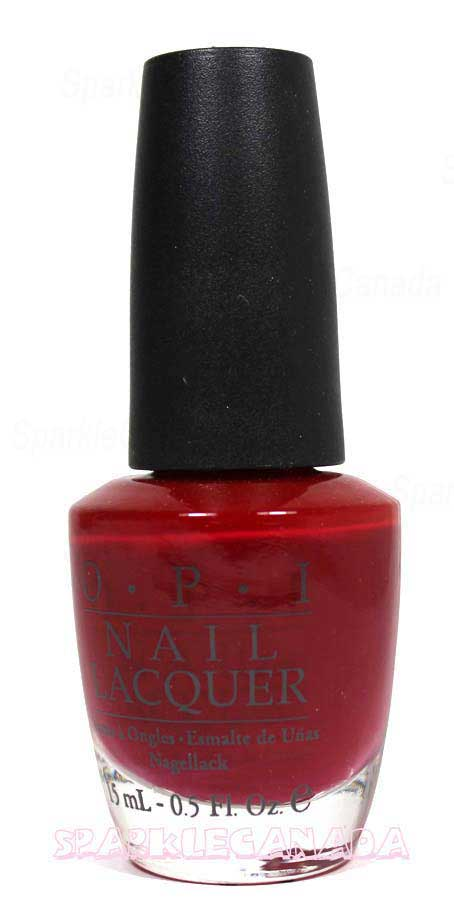 Opi Chick Flick Cherry By Opi Nlh02 Sparkle Canada