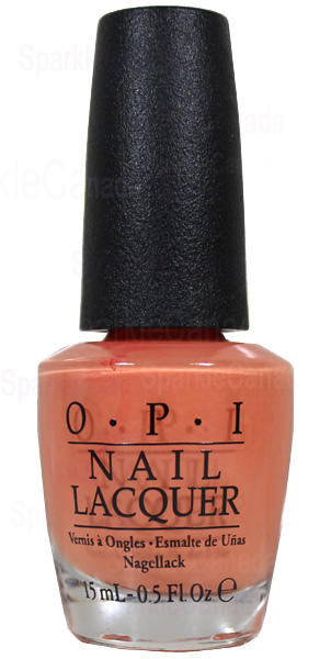 Opi Is Mai Tai Crooked By Opi Nlh68 Sparkle Canada One Nail Polish Place
