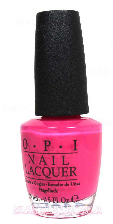 Opi Strawberry Margarita By Opi Nlm23 Sparkle Canada One Nail Polish Place
