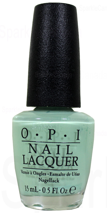 Opi This Cost Me A Mint By Opi Nlt72 Sparkle Canada One Nail Polish Place