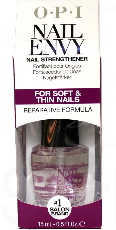 OPI Nail Envy, Soft and Thin Nail Envy Nail Strengthener By OPI Nail ...