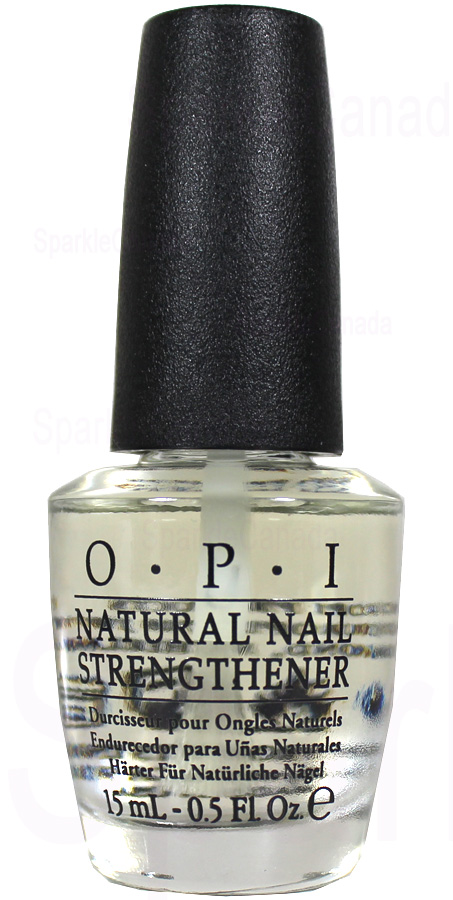 Opi Natural Nail Strengthener Base Coat By Opi Ntt60 Sparkle Canada One Nail Polish Place