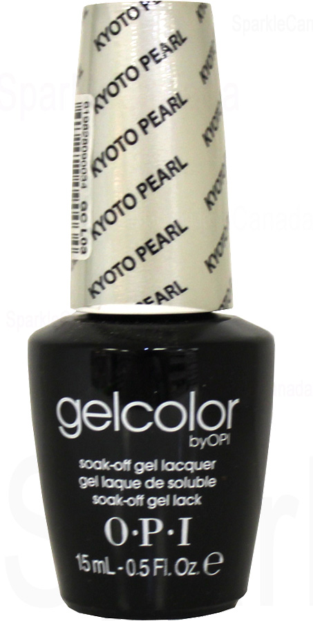 Opi Gel Color Kyoto Pearl By Opi Gel Color Gcl03 Sparkle Canada One Nail Polish Place