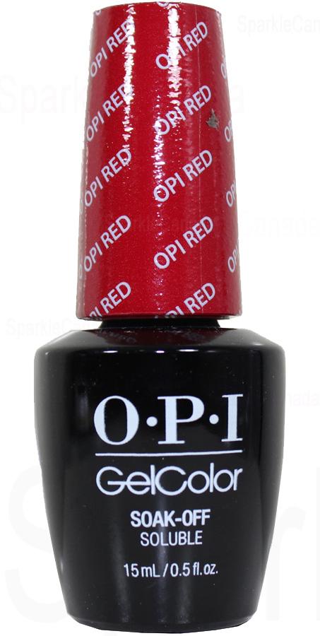 Opi Gel Color Opi Red By Opi Gel Color Gcl72 Sparkle