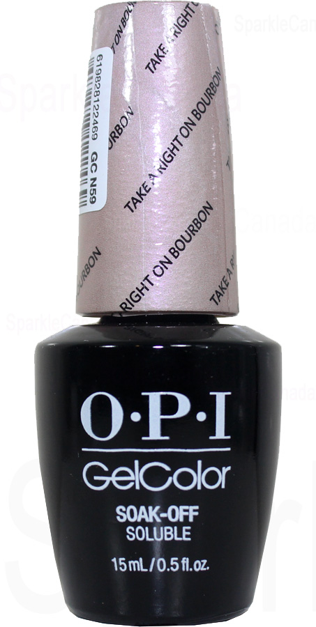 Opi Gel Color Take A Right On Bourbon By Opi Gel Color
