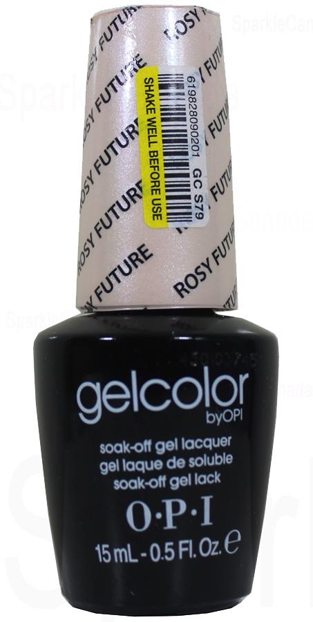 Opi Gel Color Rosy Future By Opi Gel Color Gcs79