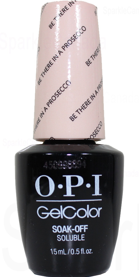 Opi Gel Color Be There In A Prosecco By Opi Gel Color Gcv31 Sparkle Canada One Nail Polish