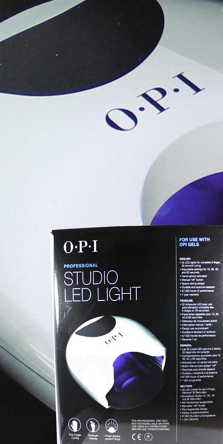 opi studio led light by opi