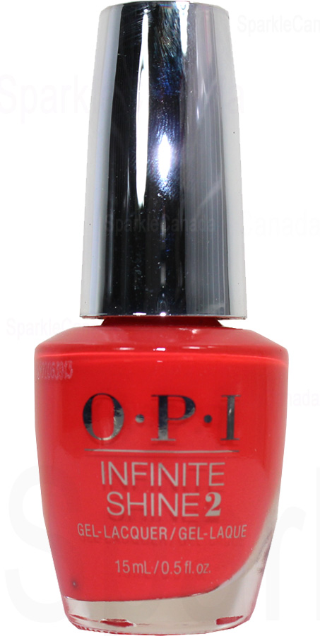 Opi Infinite Shine A Red Vival City By Opi Infinite Shine Isll22 Sparkle Canada One Nail